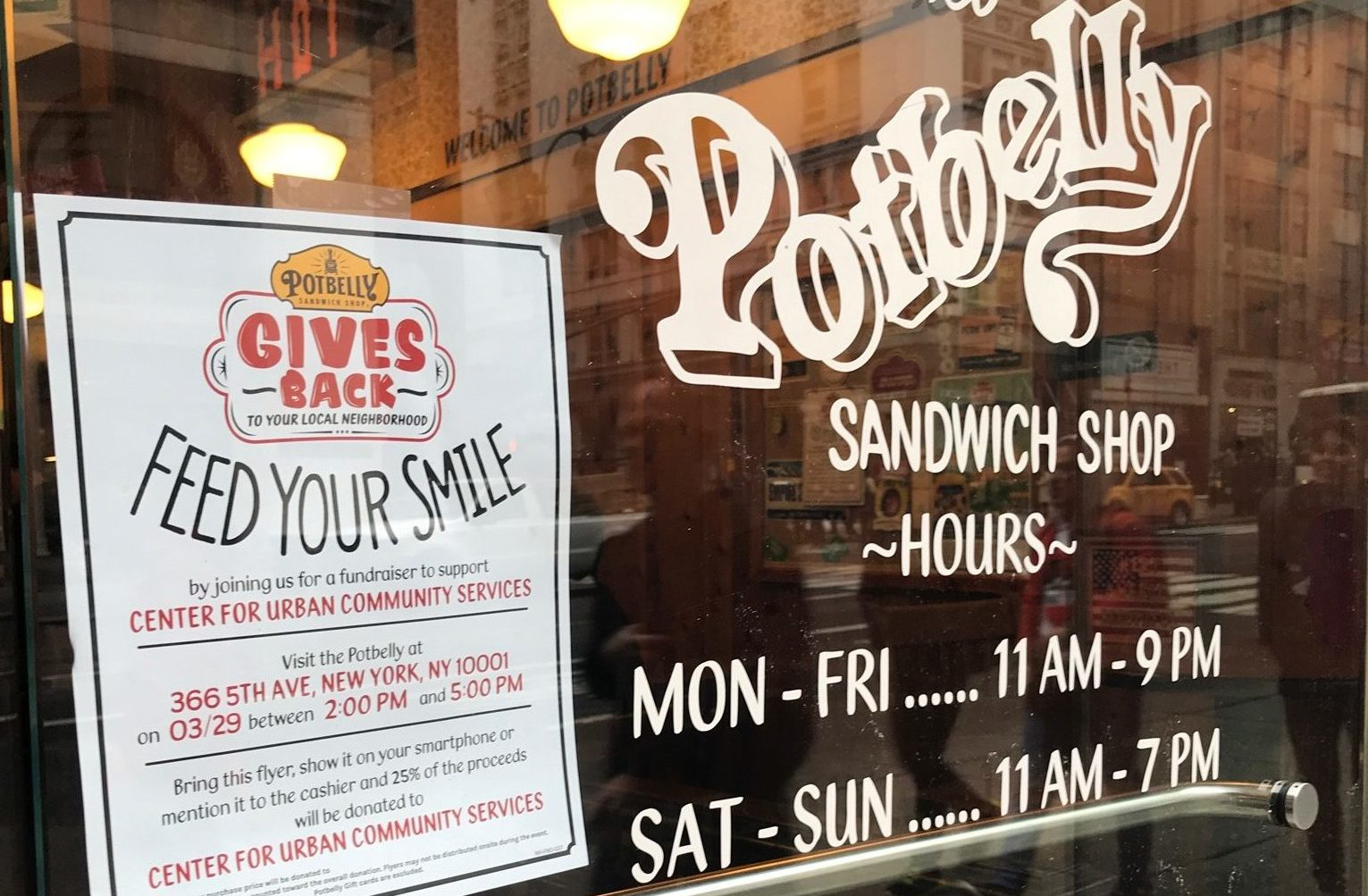 Sandwiches for a Cause: Our Fundraiser with Potbelly